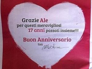 Anniversario 17 Anni Di Matrimonio.La Colombari Dedica Pagina Sul Corriere A Costacurta Buon