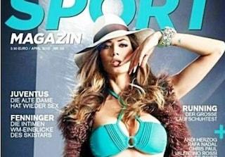 Il bikini esplosivo di Melissa Satta conquista anche l'Austria (FOTO)