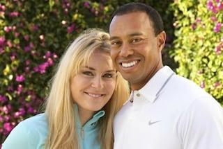 Tiger Woods e Lindsey Vonn stanno insieme, addio all'ex moglie Erin