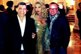 Valeria Marini, il marito Gianni e il testimone Gigi a Cannes 2013