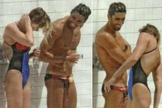 Federica Pellegrini e Magnini complici sotto la doccia, è tornato l'amore?