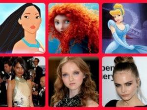Modelle come le Principesse Disney