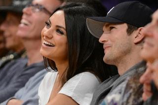 """Ashton Kutcher e Mila Kunis: """"sì"""" nello spazio da 146mila euro"""