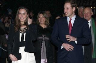 William è corso al fianco di Kate, in attesa del parto