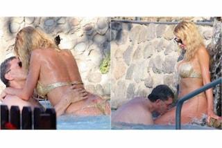 Valeria Marini e Giovanni Cottone, passione in vacanza e baci hot