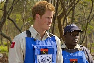 Il principe Harry come sua madre Lady Diana, contro le mine antiuomo