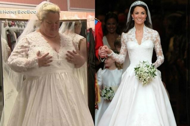 e38d5a35c1 Nell'ultima puntata del docu-reality Honey Boo Boo, uno tra i programmi  della tv trash americana, è andata in onda una ricerca all'abito da sposa  come non ...