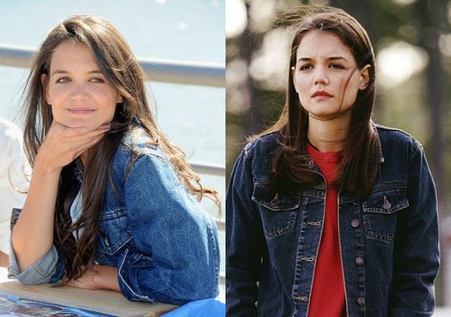 """Katie Holmes oggi e ai tempi di """"Dawson's Creek"""""""