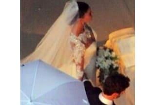 Le prime foto esclusive delle nozze tra Belén e Stefano