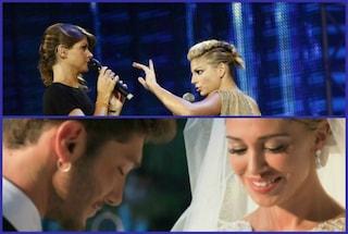 Nozze di Belén e Stefano e #amorosoday: ma si parla sempre di Emma