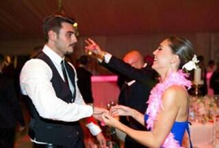 Cecilia e Francesco Monte si scatenano al matrimonio di Belén (FOTO)
