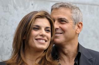 """George Clooney parla della Canalis: """"Io conosco la vera Elisabetta"""""""