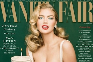 Kate Upton come Marilyn Monroe, sexy covergirl per Vanity Fair