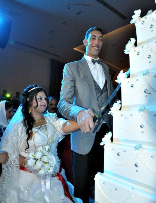 Il giorno del matrimonio di Sultan e Merve