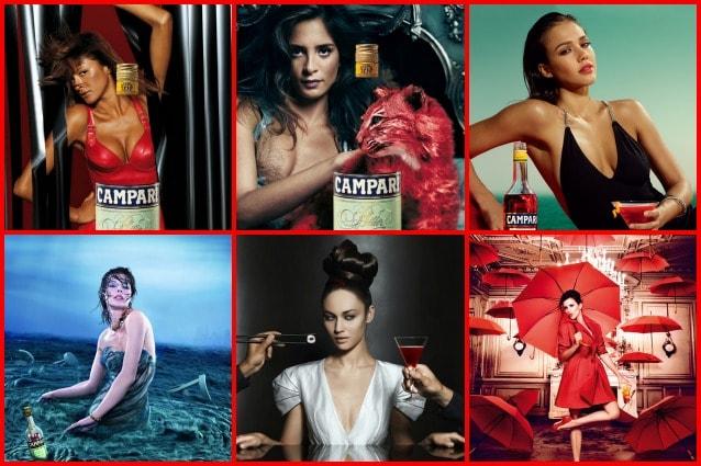 Da sinistra in alto: Magda Gomes, Carolina Bittencourt, Jessica Alba, Milla Jovovich, Olga Kurylenko e Penelope Cruz.