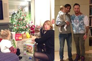 La magia del Natale a casa Marcuzzi-Facchinetti: c'è pure Simone Inzaghi (FOTO)