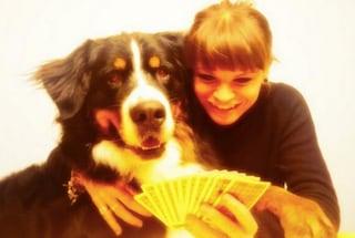 Alessandra Amoroso si dà al burraco, gioca insieme al suo cane Buddy (FOTO)