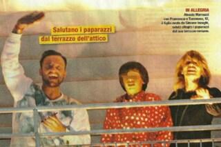 """Alessia Marcuzzi raduna la sua famiglia """"allargata"""" per festeggiare il Natalino (FOTO)"""