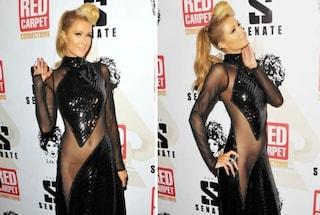 Paris Hilton e il nude look da urlo a Hollywood (FOTO)