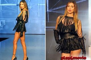 """Belén Rodriguez hot in pelle nera, di """"Imperfect"""" c'è solo il marchio"""