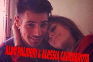 Alessia Cammarota con Aldo a Catania, le ha presentato i suoi genitori