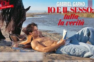"""La prima volta di Gabriel Garko: """"Avevo 16 anni, lei 18..."""""""