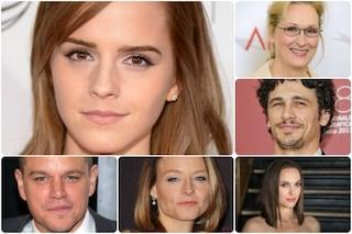 Le star più colte di Hollywood, in testa Emma Watson e James Franco