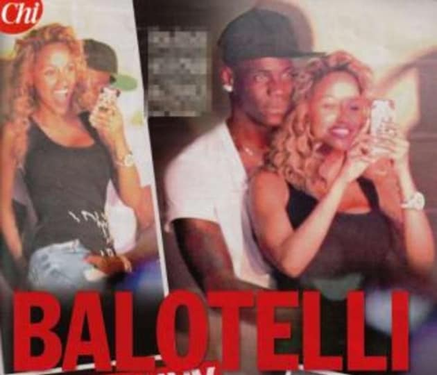 """Mario Balotelli e Fanny su """"Chi"""""""