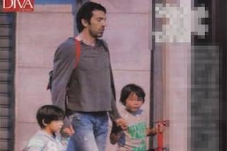 Gigi Buffon papà single a spasso con i suoi due figli (FOTO)