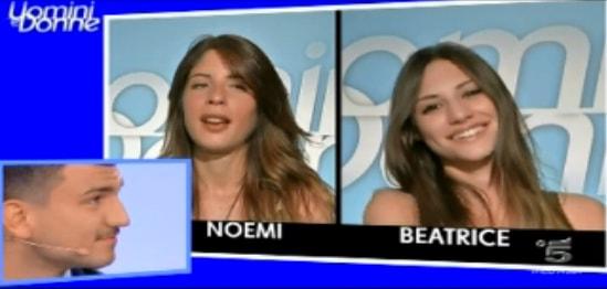 L'intervista doppia di Noemi e Beatrice