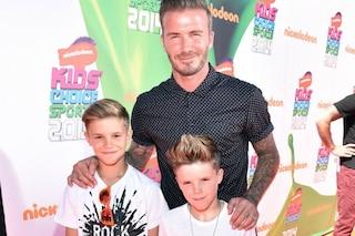 """""""Beckham padre sconsiderato, lascia il figlio di 9 anni in auto da solo per un'ora"""""""