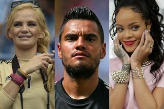 """A Rihanna 'piace' anche Romero. La moglie: """"Se vinciamo, glielo presto"""""""