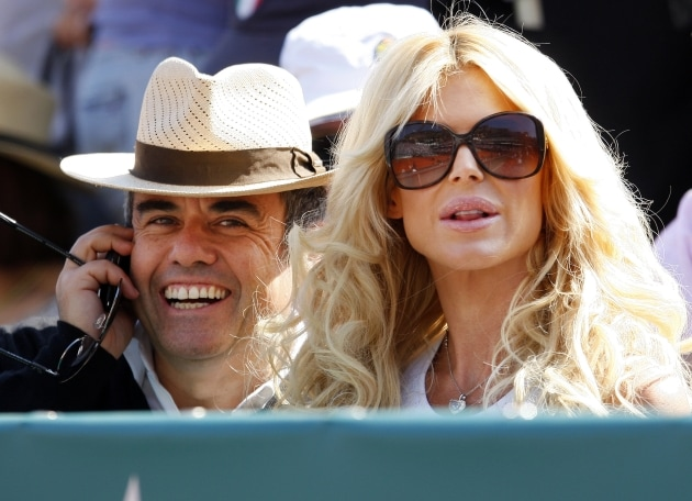Maurice Dabbah e Victoria Silvstedt