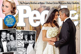 George Clooney e Amal, ecco la foto del vestito da sposa