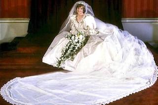L'abito da sposa di Lady Diana in regalo a Harry per i suoi 30 anni