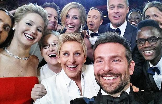 Il selfie degli Oscar 2014