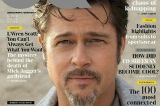 """Brad Pitt: """"George Clooney è divertente, io sono un triste bastardo"""""""