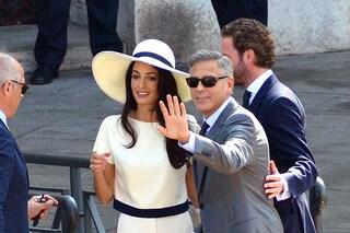 George Clooney e Amal Alamuddin, la luna di miele come in un film horror
