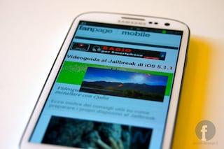 Speciale Samsung Galaxy SIII: unboxing, prima accensione e galleria fotografica