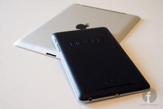 Google Nexus 7 vs. Apple iPad: il videoconfronto