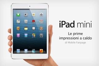 iPad Mini: prime impressioni e recensione caratteristiche [VIDEO]