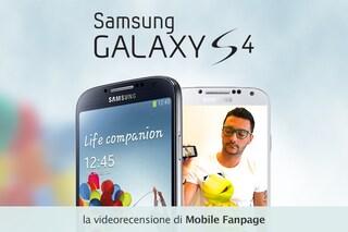 Samsung Galaxy S4 , la video recensione
