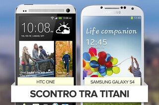 Samsung Galaxy S4 vs HTC One , i due smartphone in un video confronto
