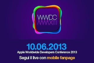 Al via il WWDC 2013, tutte le novità di Apple nel Keynote da San Francisco [DIRETTA]