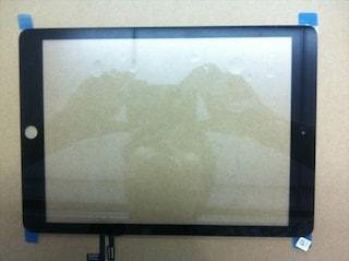 iPad 5, da alcune foto del pannello frontale si inizia a dedurne il design