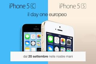 Il giorno di Apple: iPhone 5s e 5c in vendita, ma non in Italia. [DIRETTA TERMINATA]