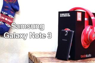 Video recensione del Samsung Galaxy Note 3