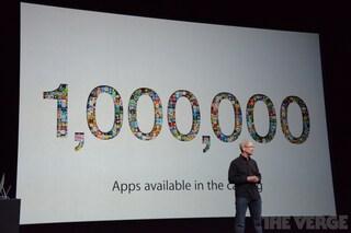 1 milione di apps su App Store e più di 1 miliardo di brani riprodotti su iTunes Radio