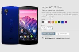 Nexus 5, in arrivo sei nuovi colori [VIDEO]