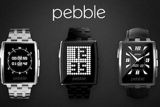 Pebble Steel, al CES 2014 il famoso smartwatch si rifà il look [VIDEO]